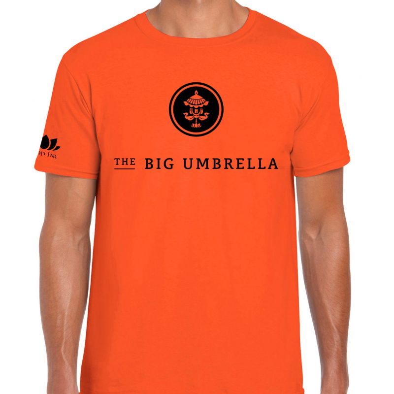 Black Logo Orange Tshirt