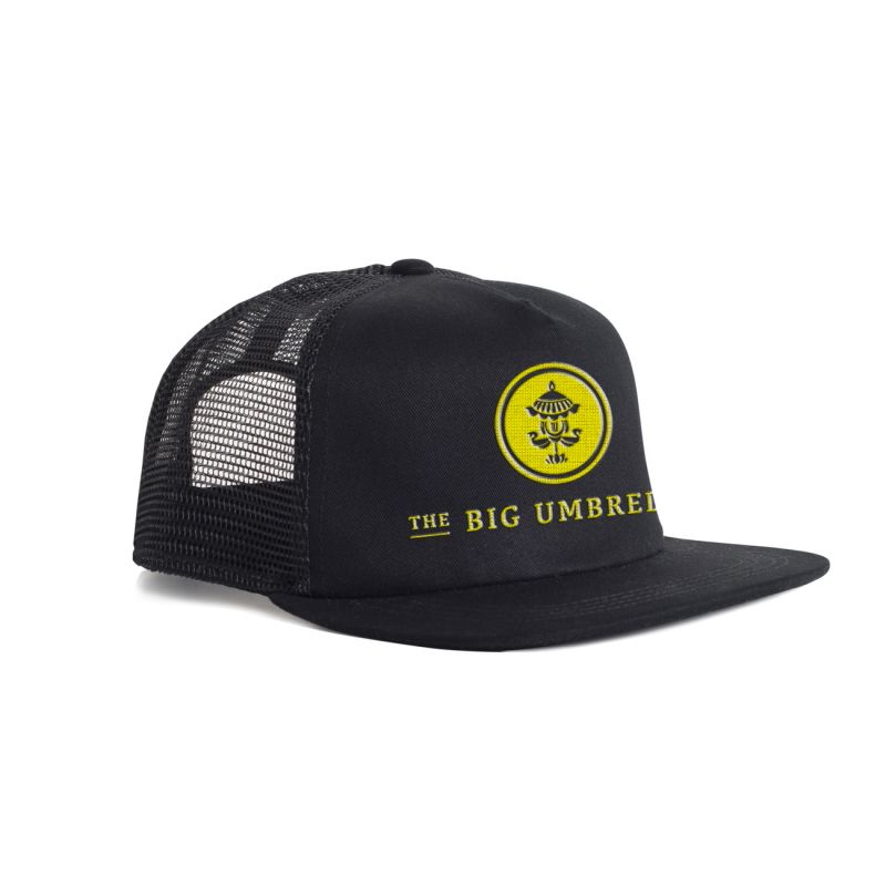Yellow Logo Trucker Hat